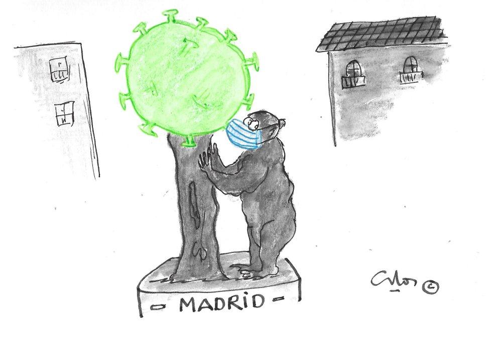 La viñeta de Villanueva, Madrid.