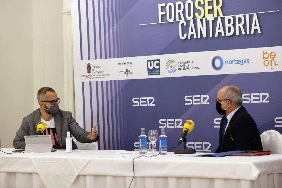 Fermín Mier ha sido el encargado de entrevistar a Miguel Rodríguez.