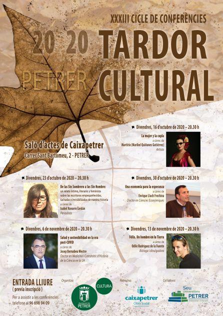 Conferencias de Otoño Cultural de Petrer