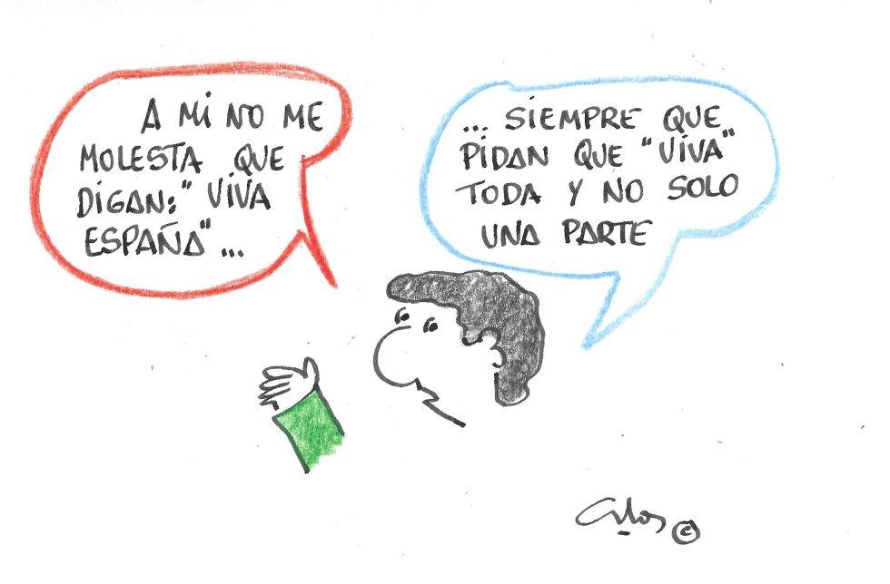 La viñeta de Villanueva, ¡Viva España!