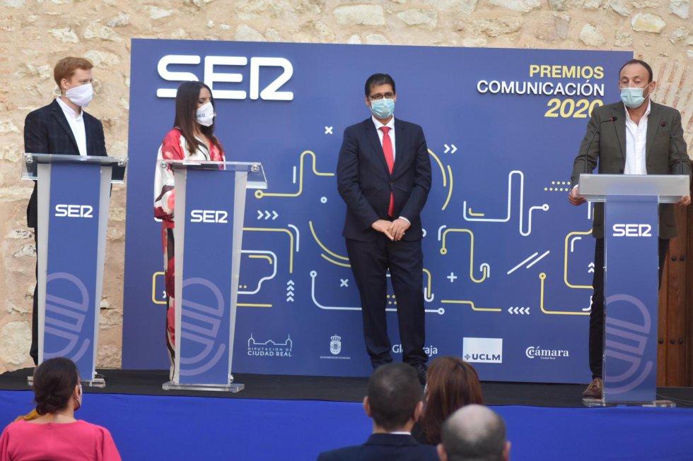 La gala de los XVII Premios Comunicación de SER Ciudad Real, en imágenes