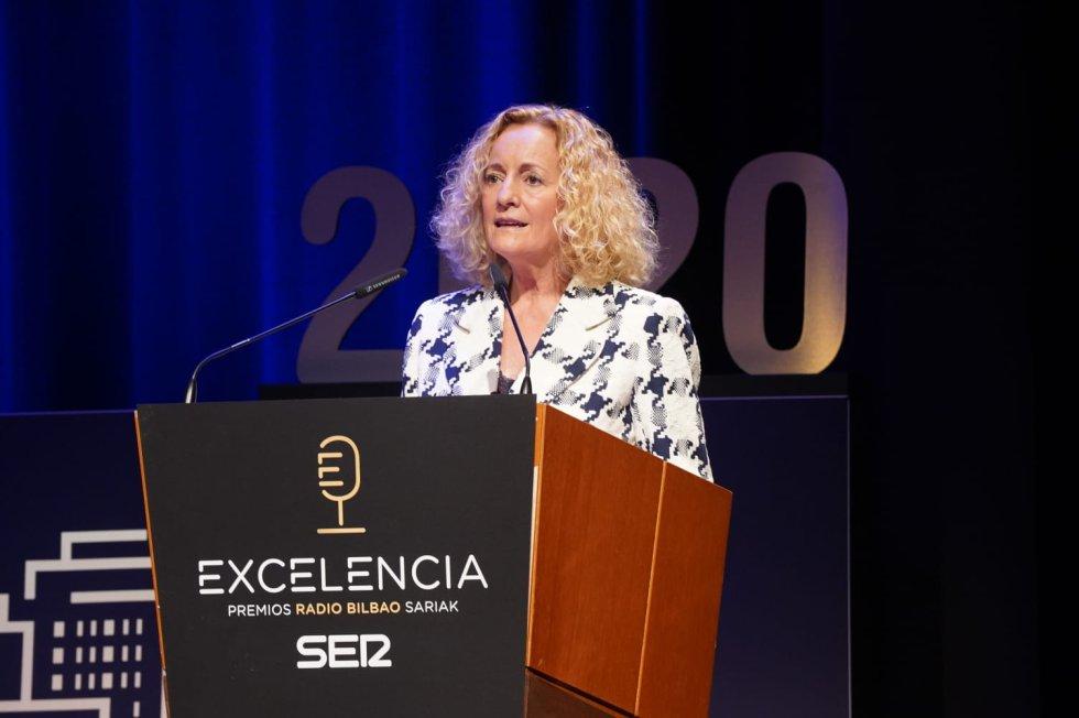 Begoña Marañón, directora de Radio Bilbao