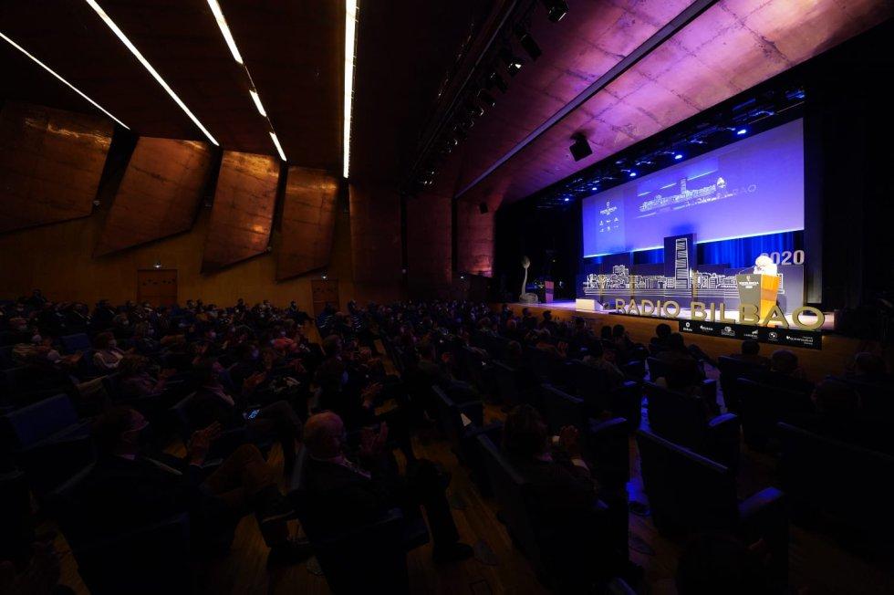 Público en el Palacio Euskalduna de Bilbao