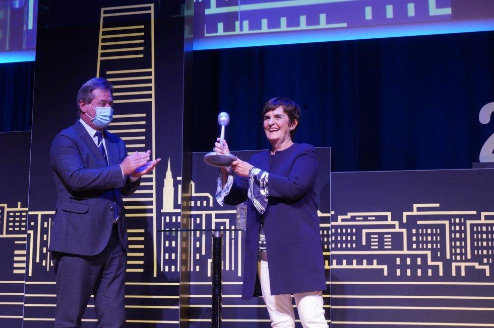 Durangoko Azoka, premio en la categoría de Euskera