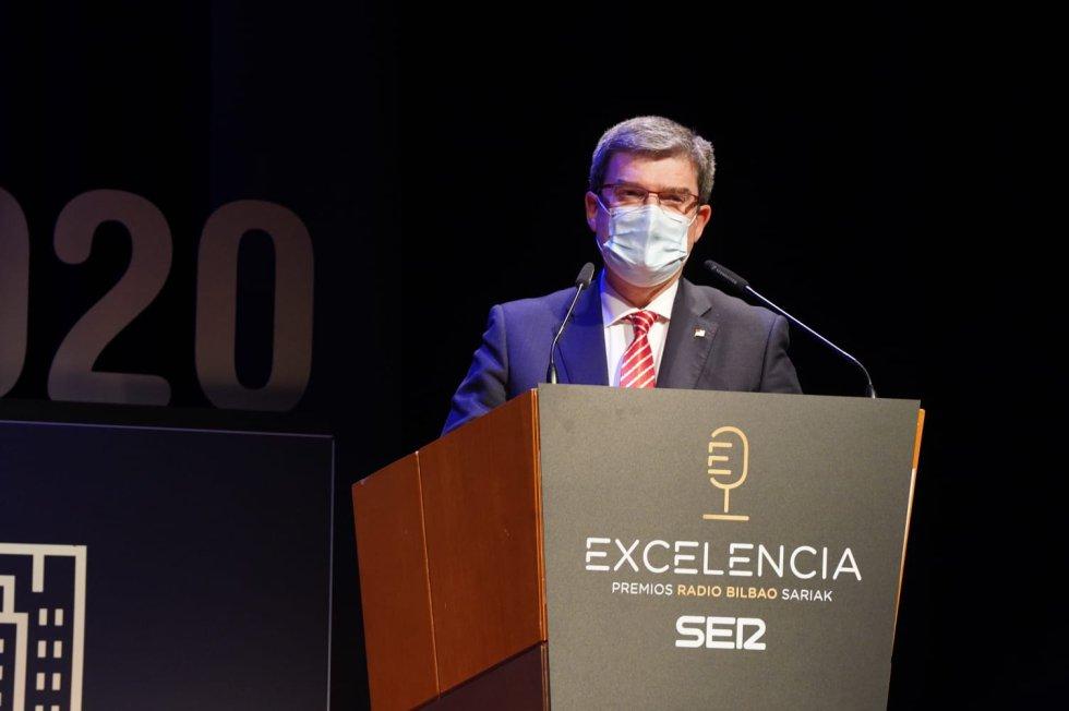 Juan María Aburto,alcalde de Bilbao