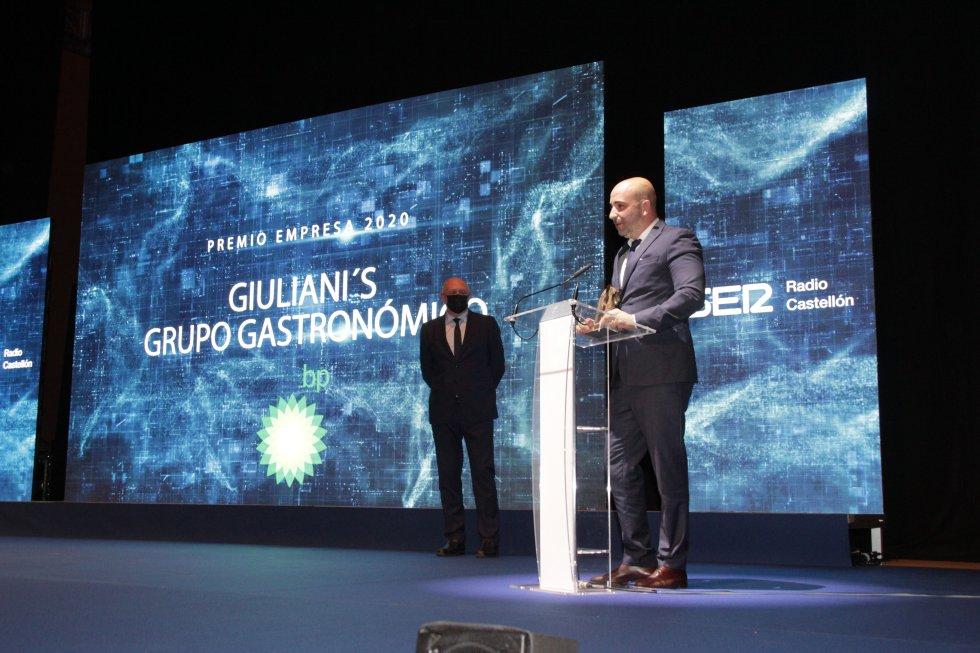 Premio Empresa - Giuliani's Grupo Gastronómico