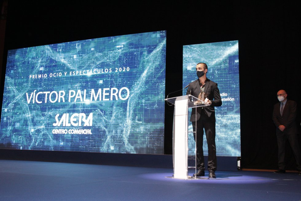 Premio Ocio y Espectáculos - Víctor Palmero