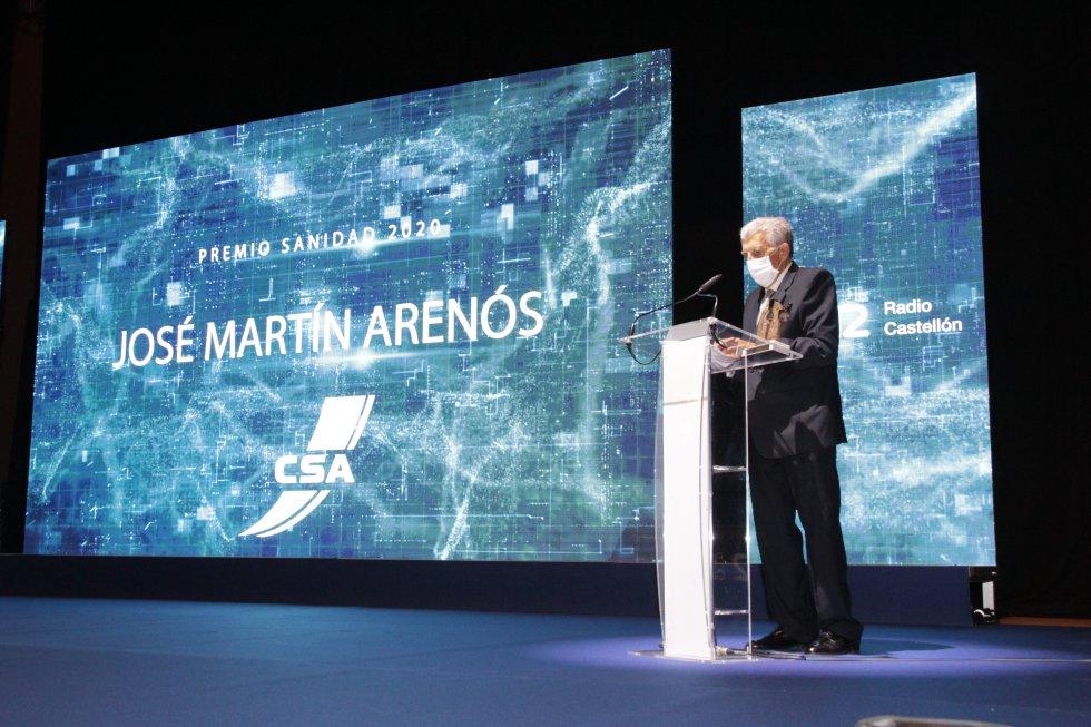 Premio Sanidad - José Manuel Martín Arenós