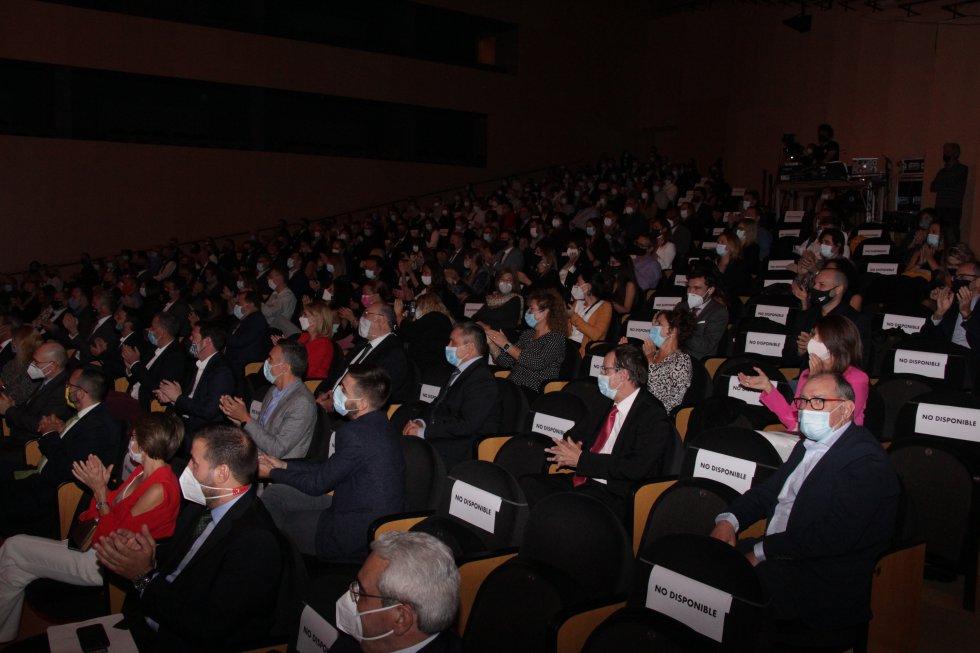 Público de la Gala de los Premios de Radio Castellón