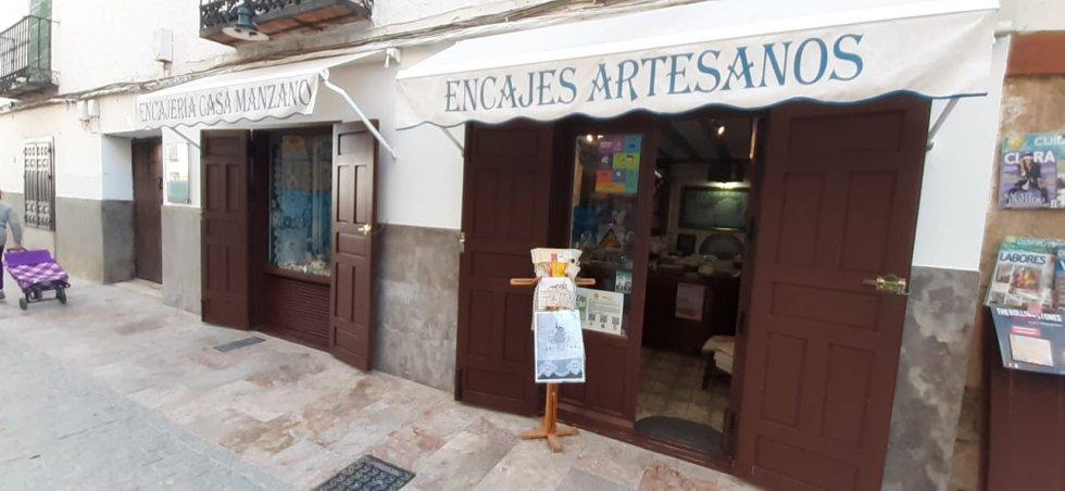 Fotogalería: Hoy por Hoy desde el Museo Municipal de Encaje y Blonda de Almagro