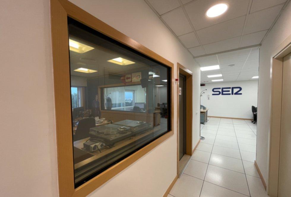 Estudios del centro de producción de Prisa Radio en Málaga