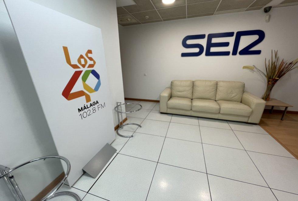 Espacios del centro de producción de SER Málaga
