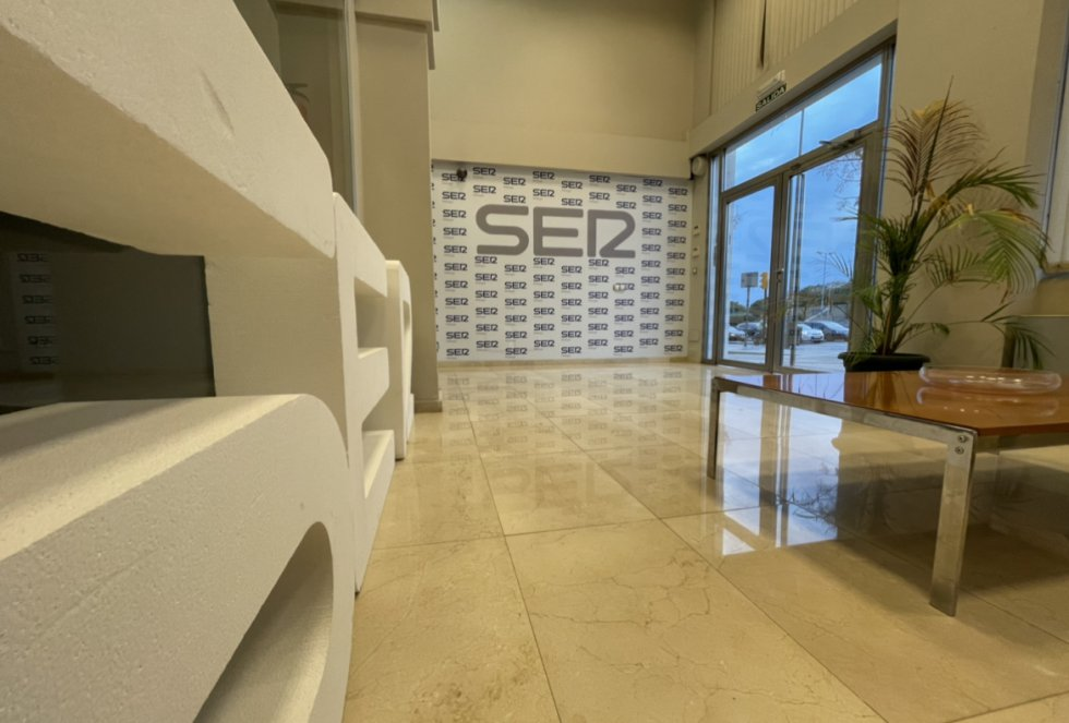 Entrada principal de las instalaciones de SER Málaga