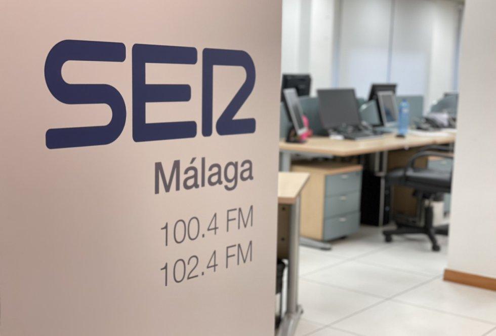 La nueva señalítica en el área comercial de SER Málaga