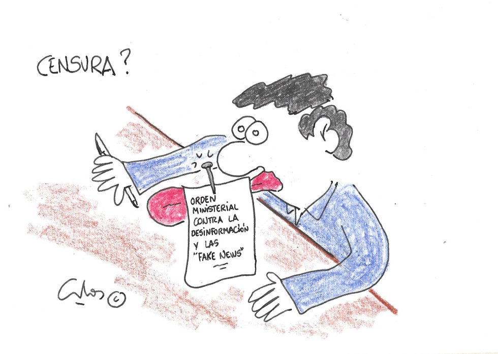 La viñeta de Villanueva, censura