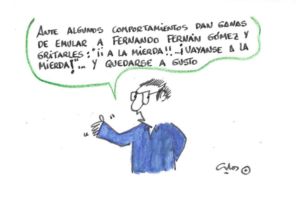 La viñeta de Villanueva, Fernando Fernán Gómez