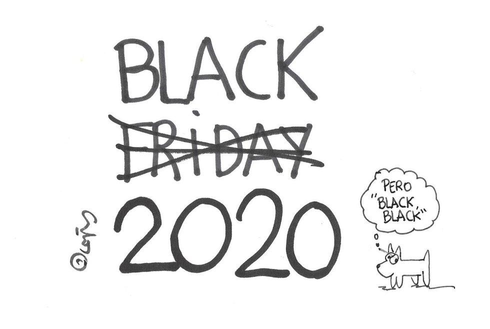 La viñeta de Villanueva, Black 2020.