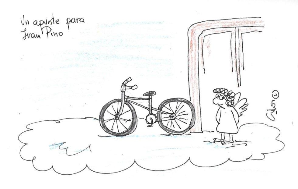 La viñeta de Villanueva, Juan Pino