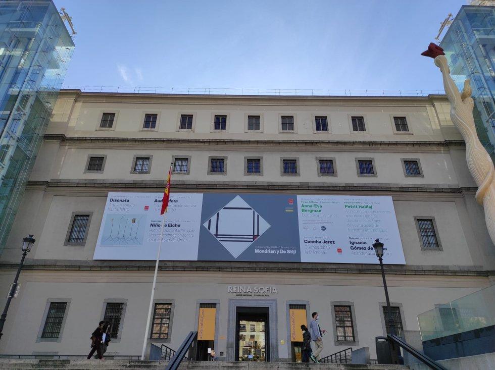 Entrada del Museo Reina Sofía