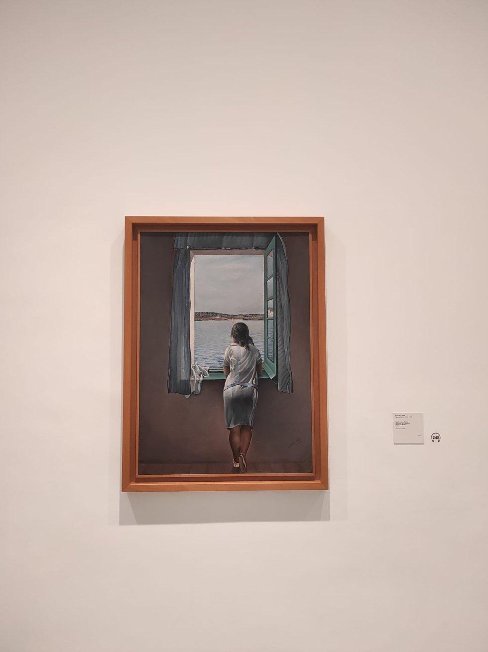 'Muchacha en la ventana' de Salvador Dalí