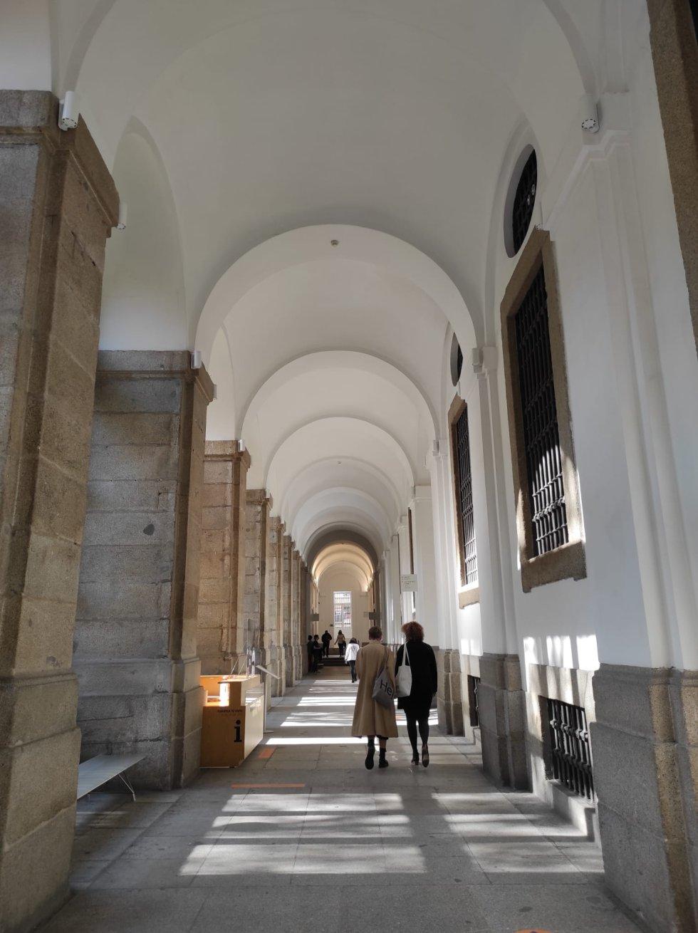 Visitantes en la jornada de puertas abiertas