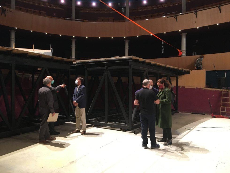 Las imágenes de las obras en el Teatro Circo de Albacete