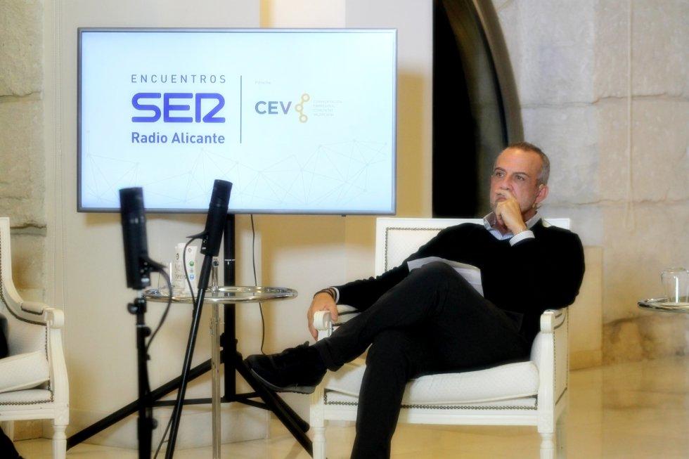 Perfecto Palacio, presidente de la Confederación Empresarial de la Comunitat Valenciana en Alicante (CEV)