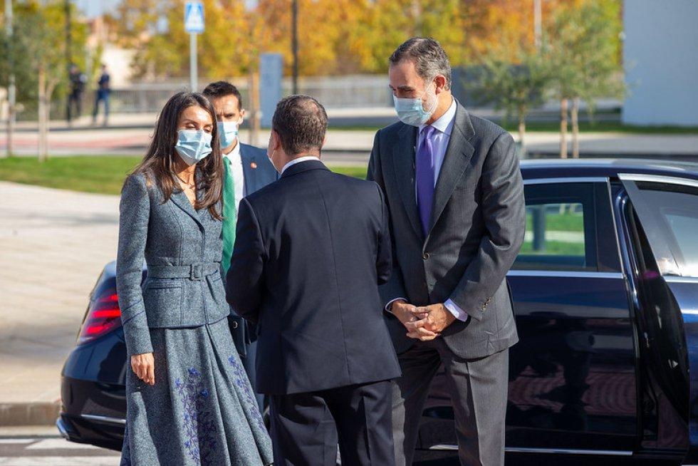 FOTOGALERÍA | Felipe y Letizia, en el nuevo Hospital de Toledo