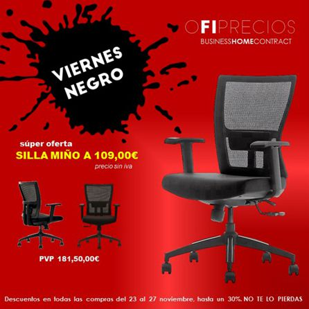 Ofertas en Ofiprecios por el Black Friday