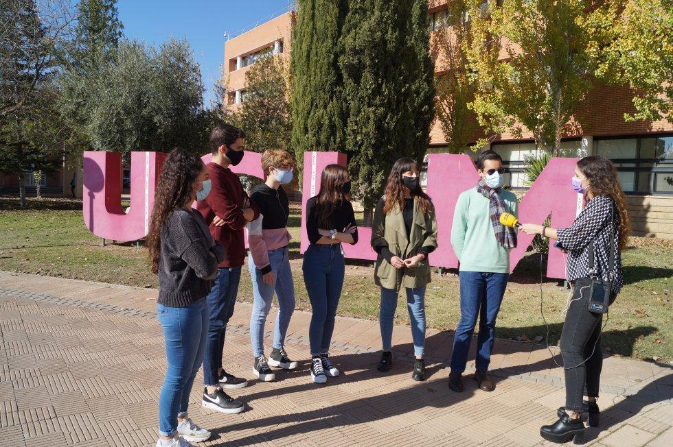 Hoy por Hoy Albacete desde el edificio Melchor de Macanaz en la UCLM