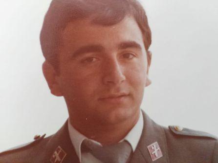 Aurelio Prieto, uniformado