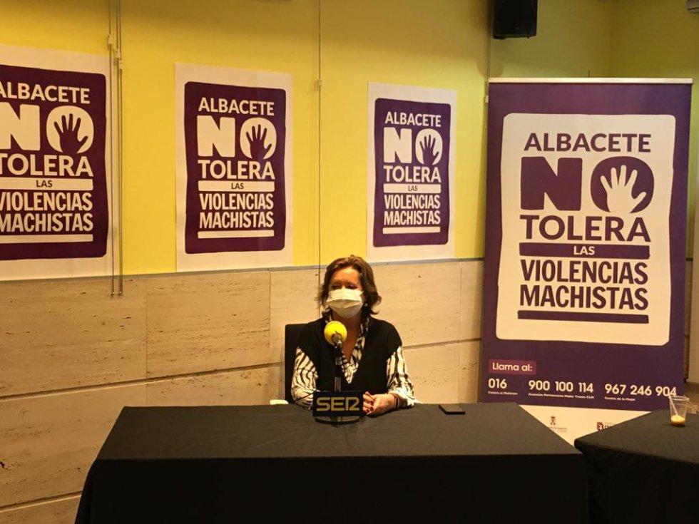 Susana Villora, psicóloga del Centro de la Mujer
