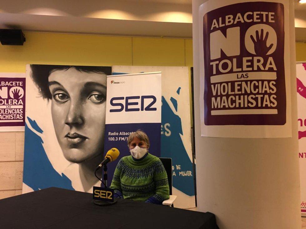 María José Iñiguez, asesora jurídica del centro y de la casa de acogida