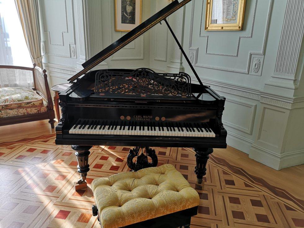 Un día en el Palacio de la Magdalena