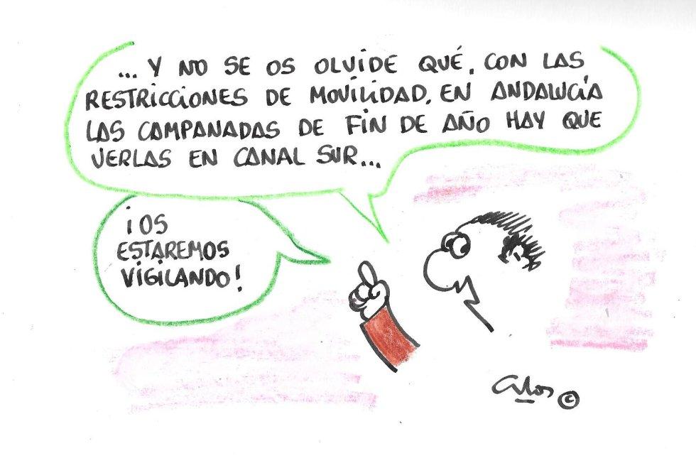 La viñeta de Villanueva, restricciones.