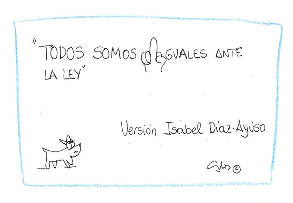 La viñeta de Villanueva, igualdad.