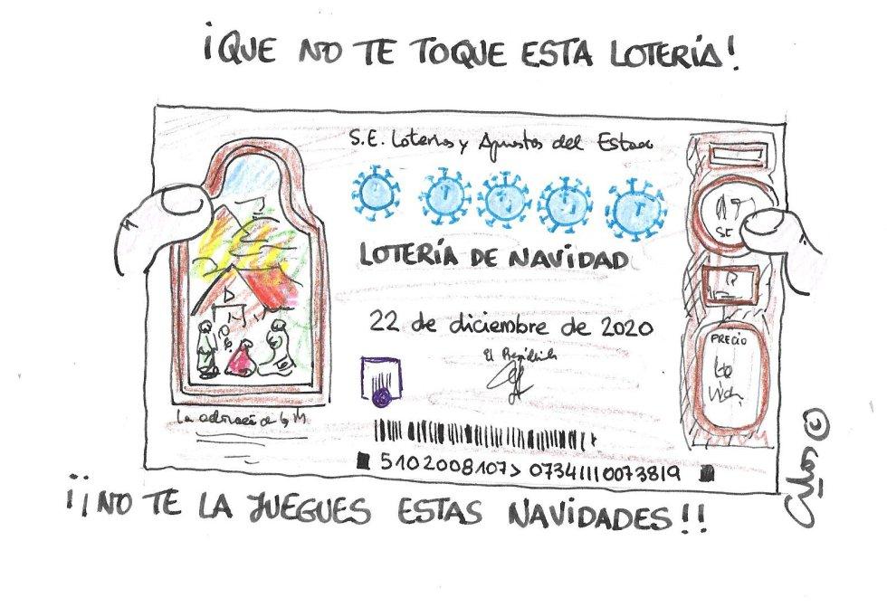 La viñeta de Villanueva, lotería