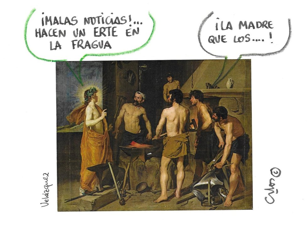 La viñeta de Villanueva, La Fragua