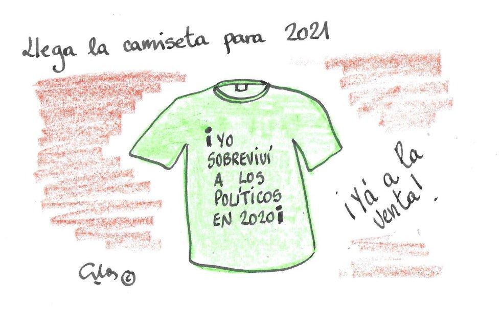 La viñeta de Villanueva, camiseta 2021