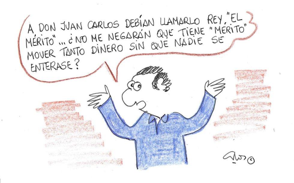 """La viñeta de Villanueva, """"El mérito"""""""