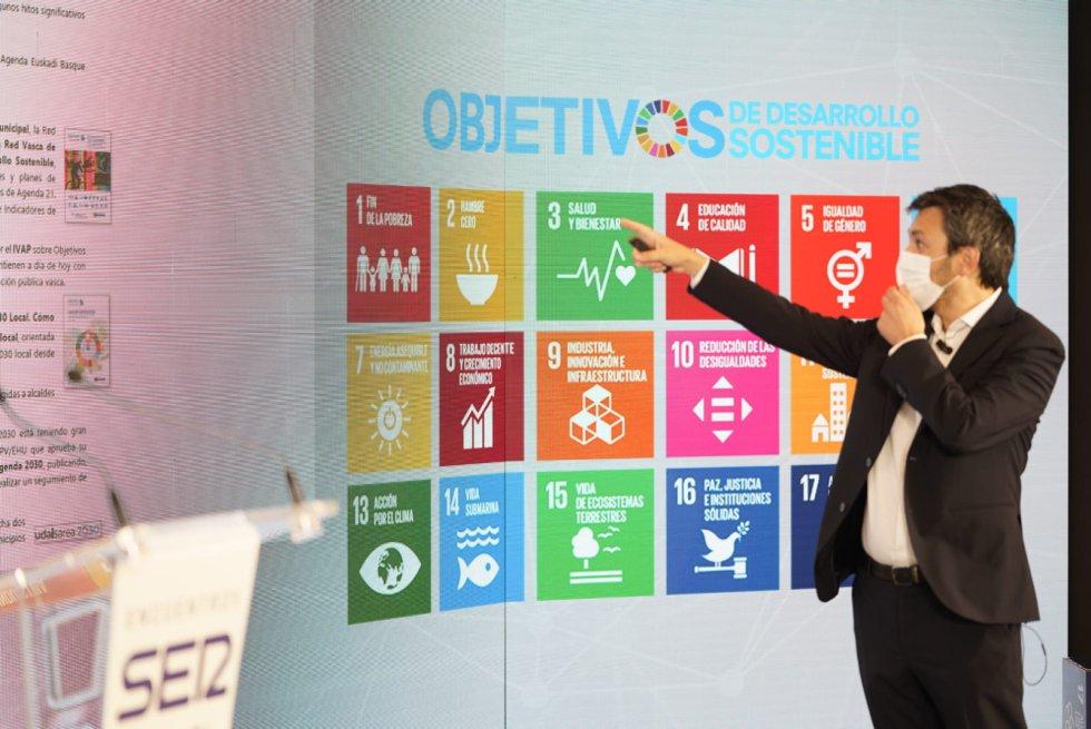 Iker Atxa, director del Gobierno vasco para la Agenda 2030