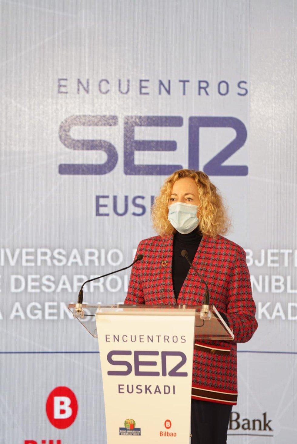Begoña Marañón, directora regional de Cadena SER Euskadi