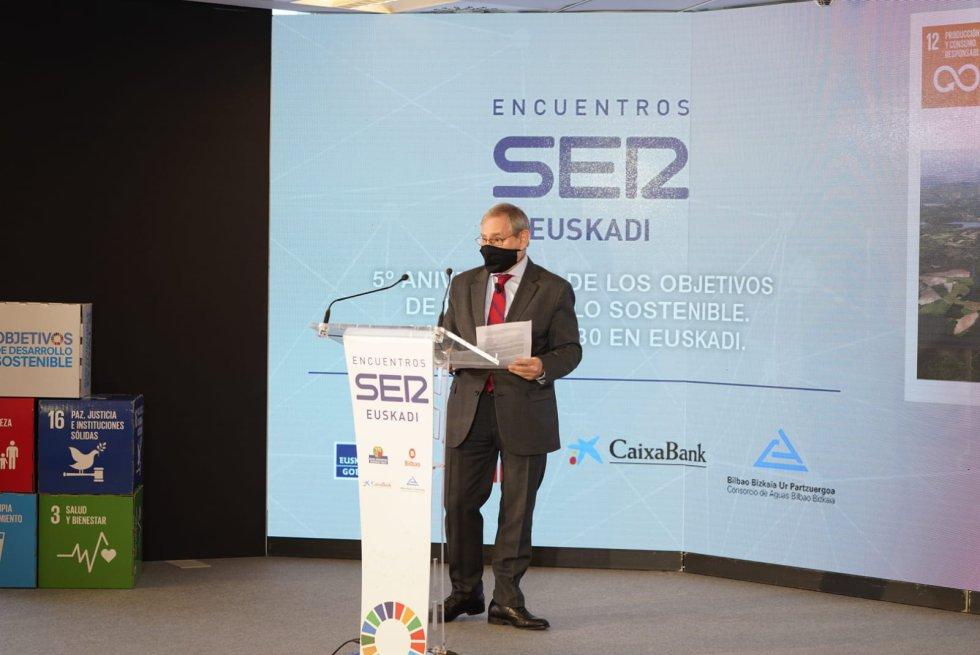 Pedro Barreiro, Director del Consorcio de Aguas Bilbao Bizkaia