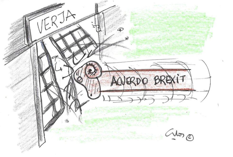 OLa viñeta de Villanueva, acuerdo brexit