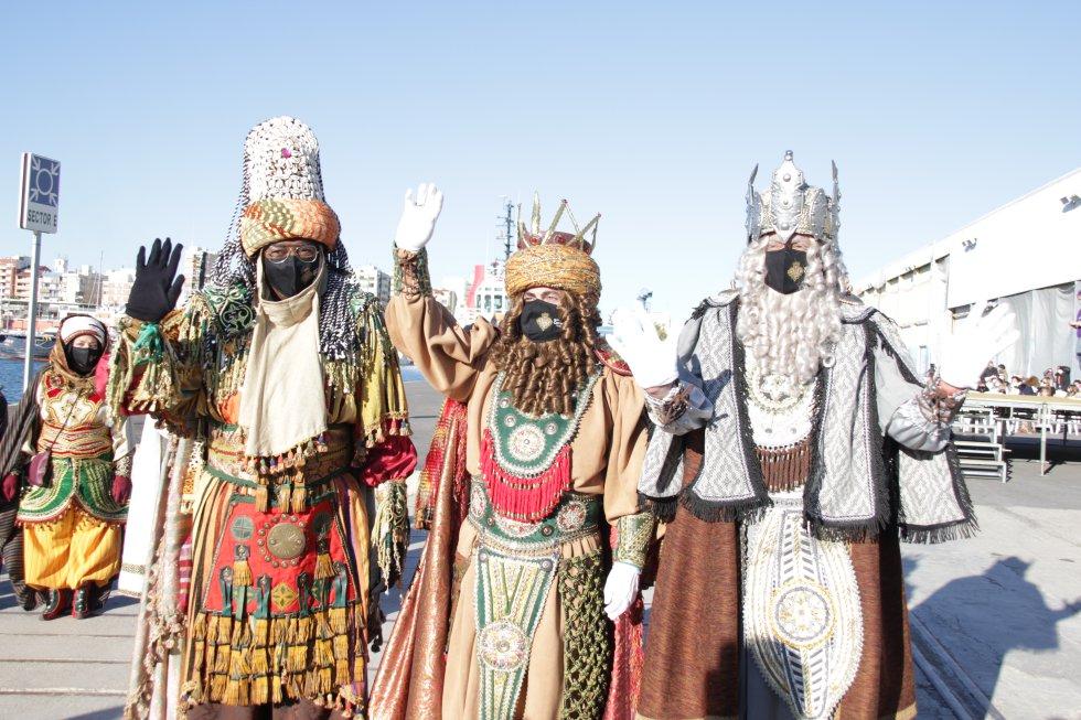 Imagen de los Reyes Magos en Castelló