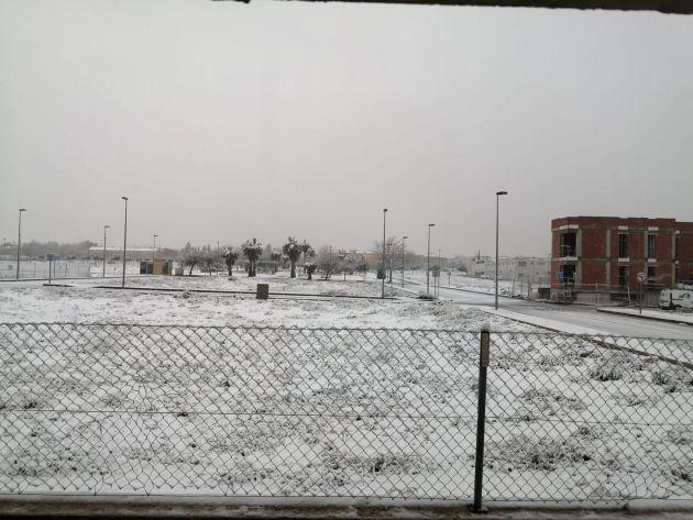 La nieve en el municipio de Bullas