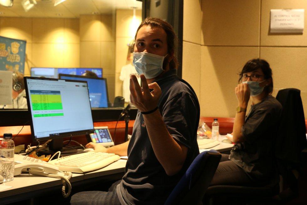 Guillem Carreras i Cristina García es van encarregar de la producció del programa