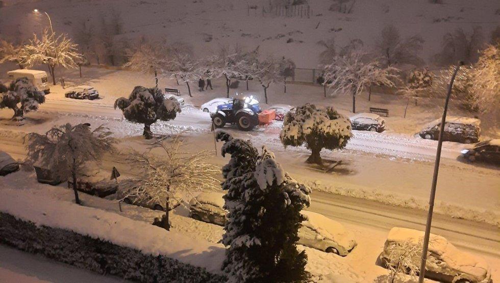 09/01/2021 Calle dde Toledo nevado SOCIEDAD ESPAÑA EUROPA CASTILLA-LA MANCHA AY TOLEDO