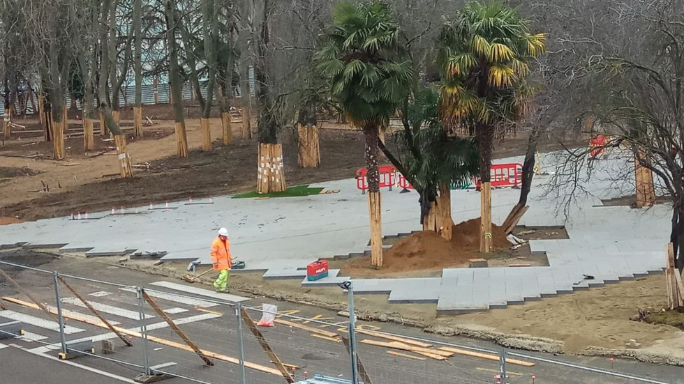El proyecto de remodelkación de Jardinillos pretende mejorar la accesibilidad, imagen y equipamiento del parque