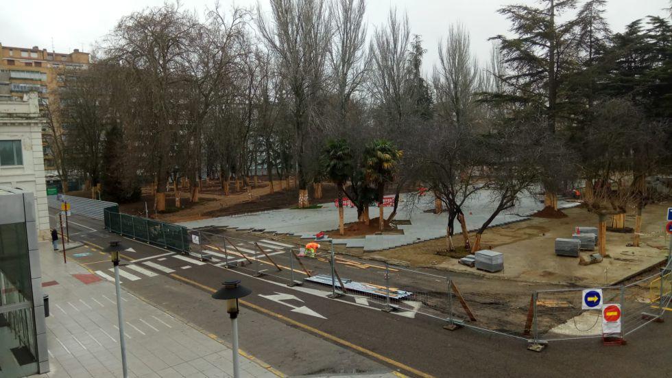 Uno de los objetivos de la reforma es la unión de Los Jardinillos con la zona de San Pablo y la Calle Mayor, para mejorar la conexión del parque